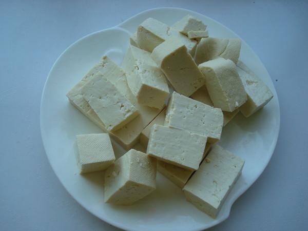 韭菜炒豆腐的做法图解
