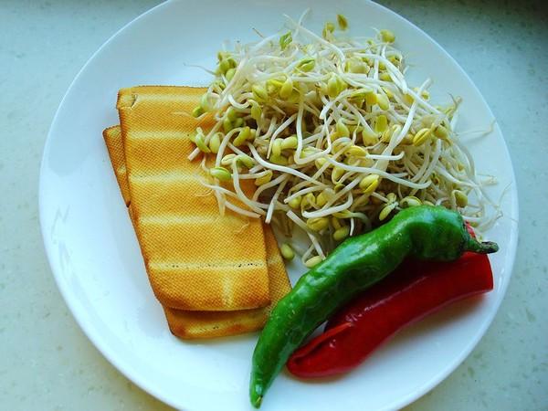 韭菜香干炒黄豆芽的做法大全