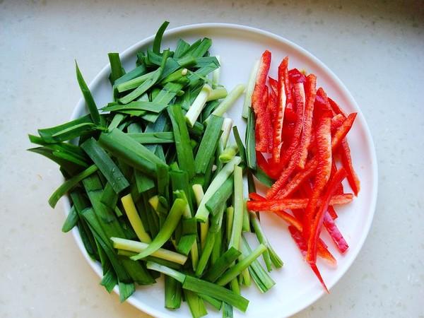 韭菜香干炒黄豆芽的家常做法