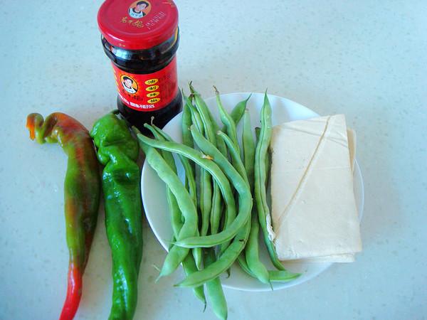 老干妈四季豆炒豆腐干的做法大全