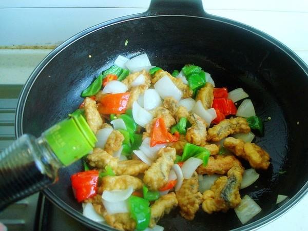 辣椒炒鱼柳怎么吃