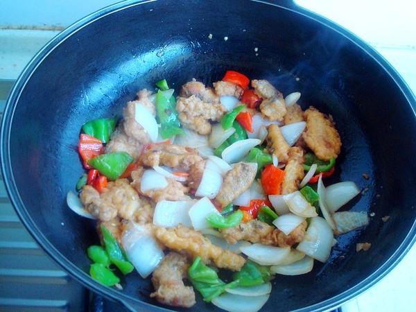 辣椒炒鱼柳怎么煮