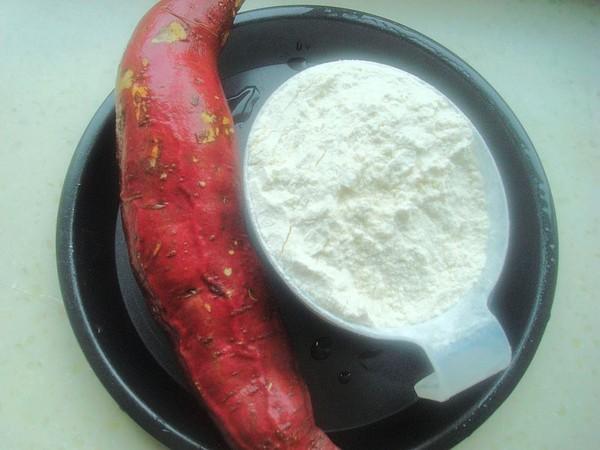 煎红薯花卷的做法大全