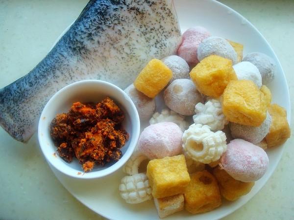 油豆腐丸子炖鱼