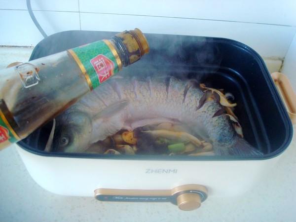 平菇焖鱼怎么煮