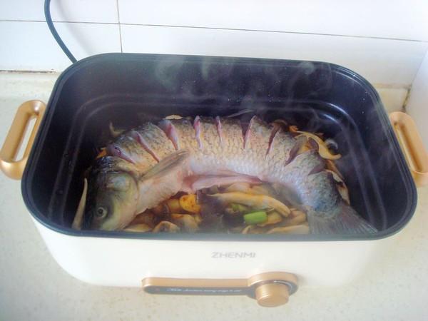 平菇焖鱼怎么炒