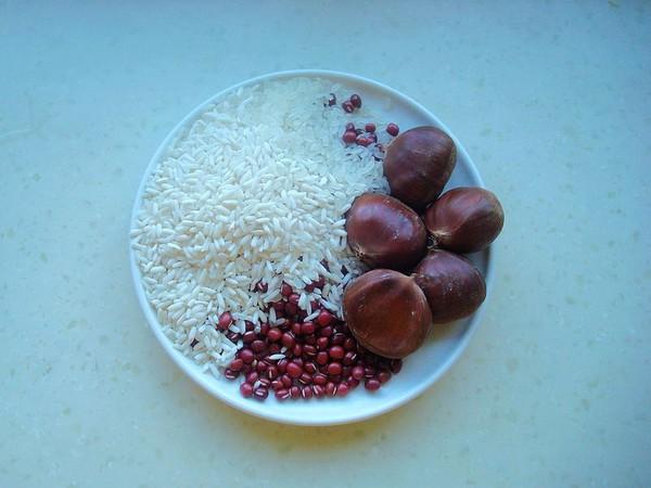 板栗红豆粥的做法大全