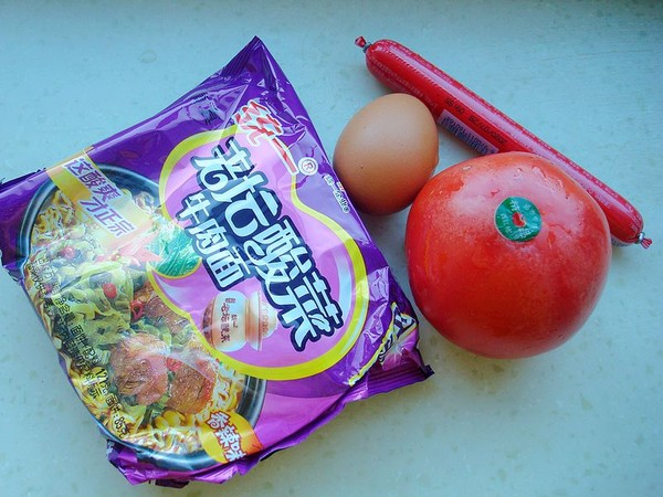 茄汁煎蛋泡面的做法大全