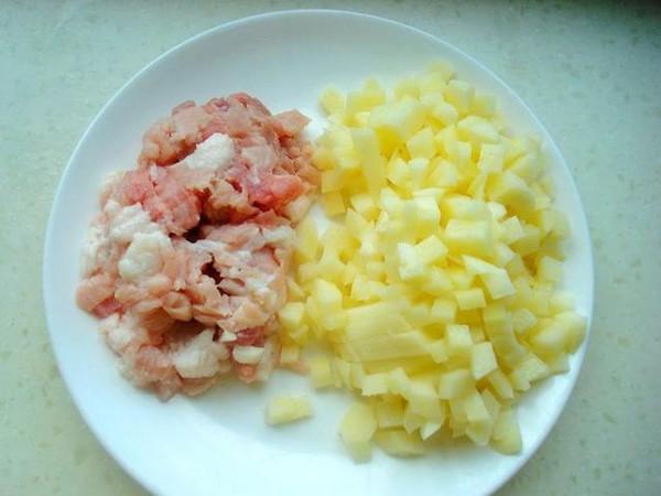 土豆炸酱肉包子的家常做法