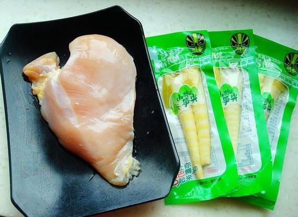 泡椒笋尖炒鸡肉的做法大全