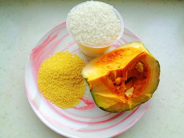 南瓜小米饭的步骤