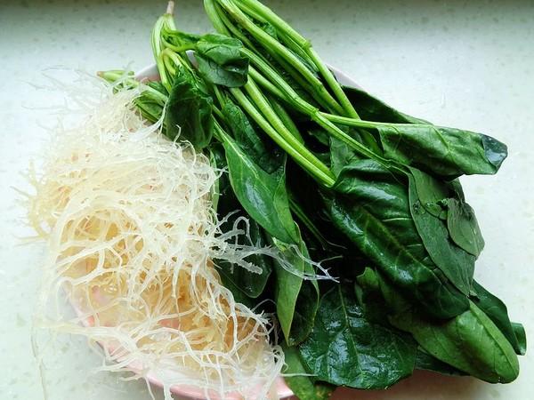 菠菜拌石花菜的做法大全