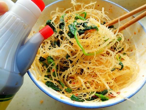 菠菜拌石花菜怎么煮