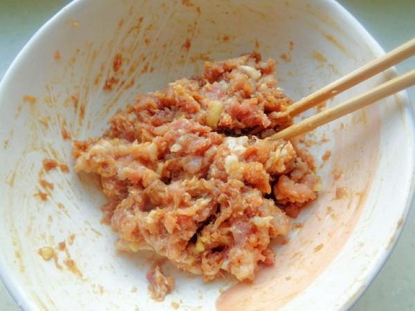 茄子肉包子的步骤