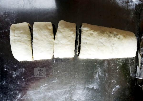 汤种芝麻餐包的制作