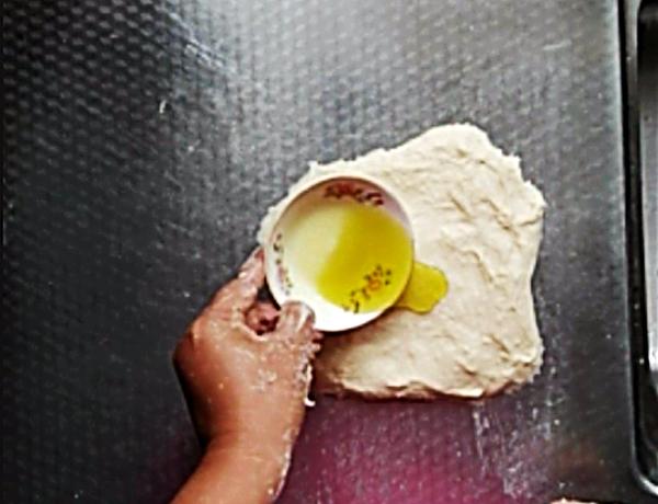 三色藜麦面包卷怎样做