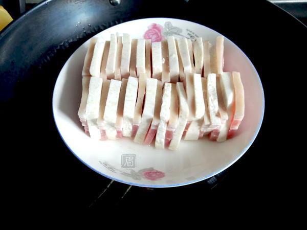 咸肉蒸芋头的简单做法