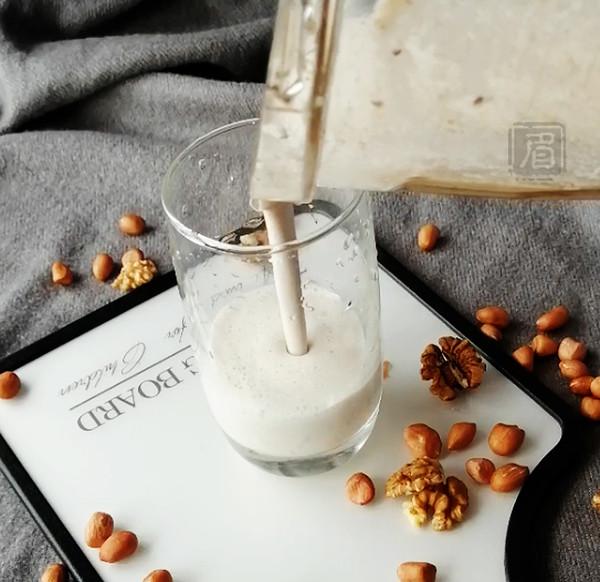 花生核桃奶怎么做