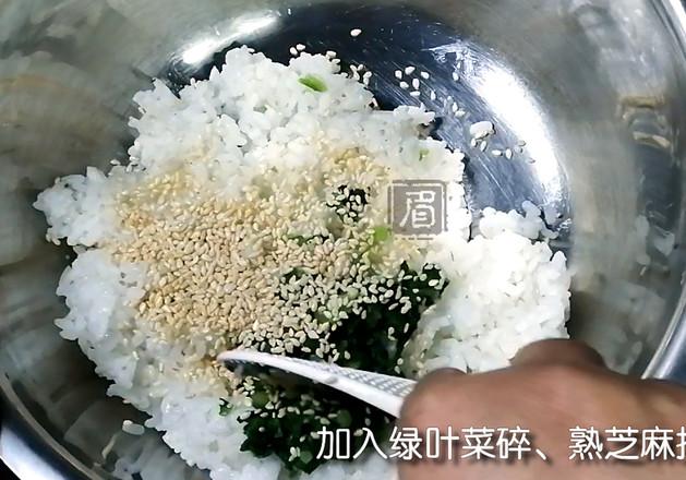 咸蛋黄肉松芝士饭团的简单做法