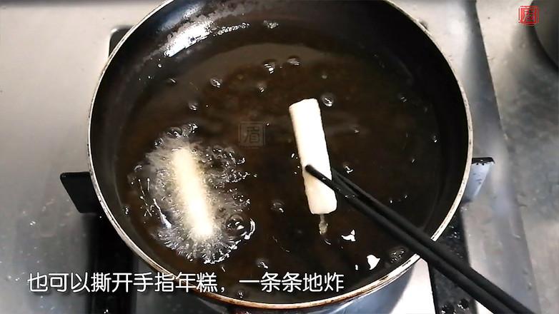 上海经典小吃猪排年糕怎样做