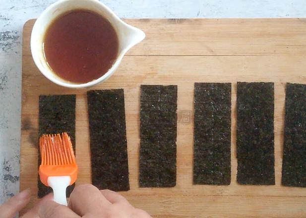 蛋卷机夹心海苔的简单做法