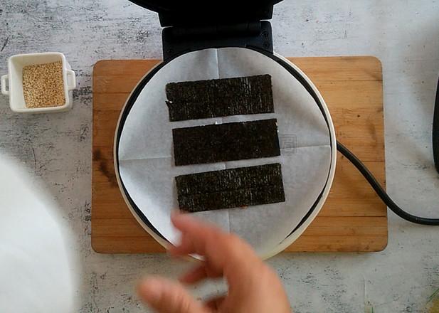 蛋卷机夹心海苔怎么煮