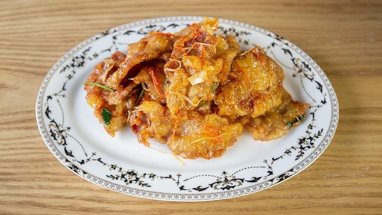 东北硬菜~锅包肉成品图