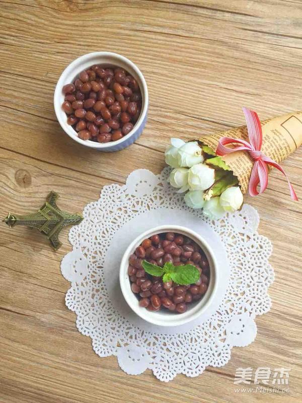 蜜红豆怎么煸