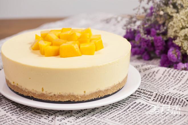 【免烤箱蛋糕】零失败芒果慕斯蛋糕怎样煮