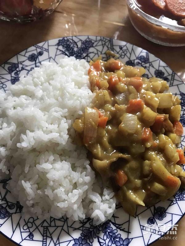 咖喱肥牛饭的做法大全