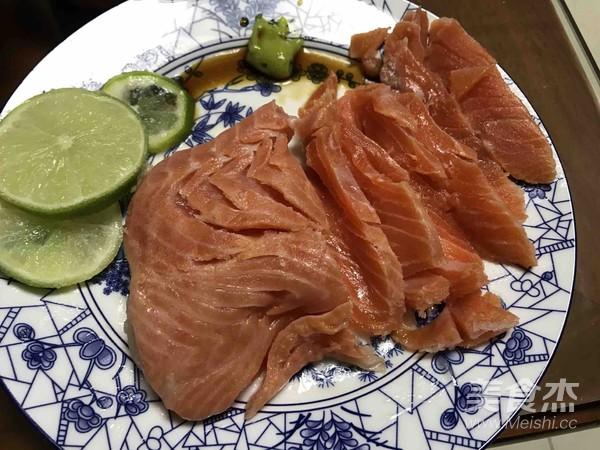 簡易三文魚餐的步驟