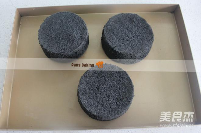 火爆朋友圈的煤球蛋糕(戚风版)怎么煸