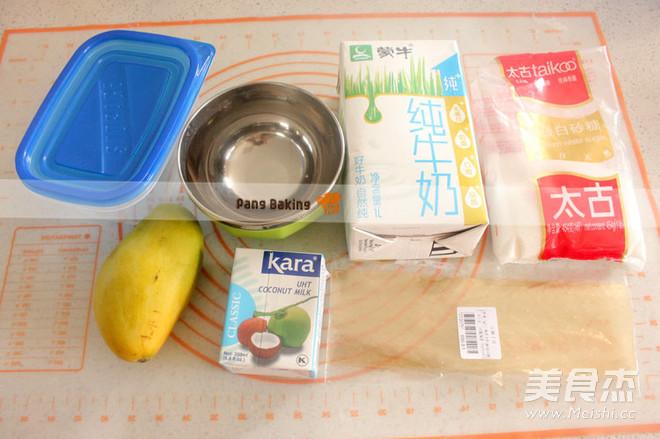 好吃的芒果椰奶冻的做法大全