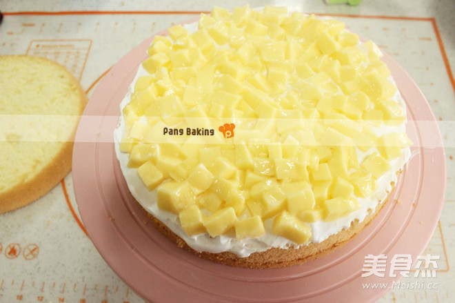 花束奶油生日蛋糕的家常做法