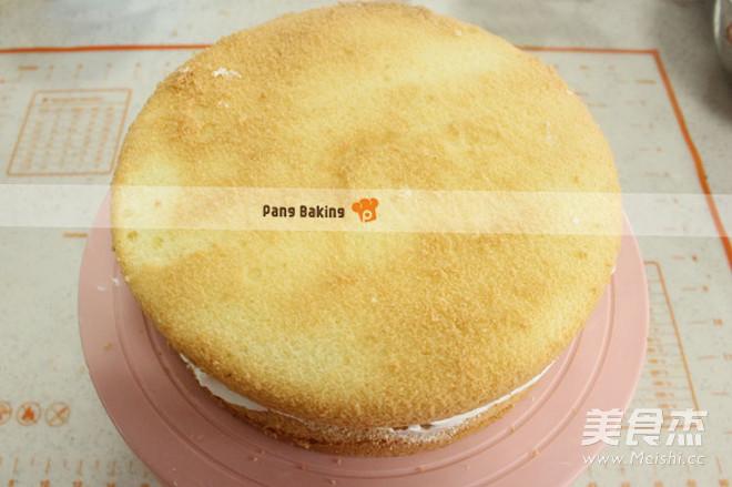 花束奶油生日蛋糕的简单做法