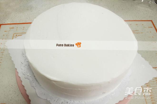 花束奶油生日蛋糕怎么吃