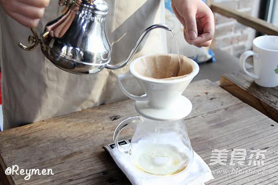 手冲咖啡的简单做法
