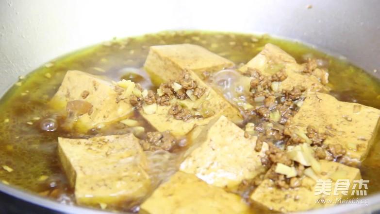 炖豆腐的制作
