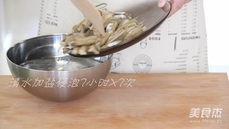 香辣炒蛏子的做法大全