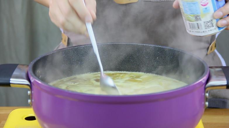 咖喱牛腩饭的步骤