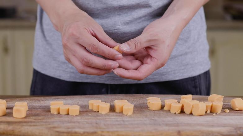 红豆芋圆的制作