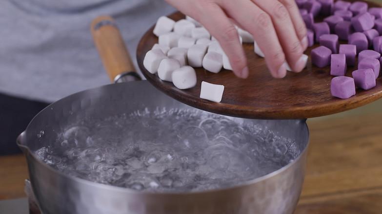 红豆芋圆的制作方法