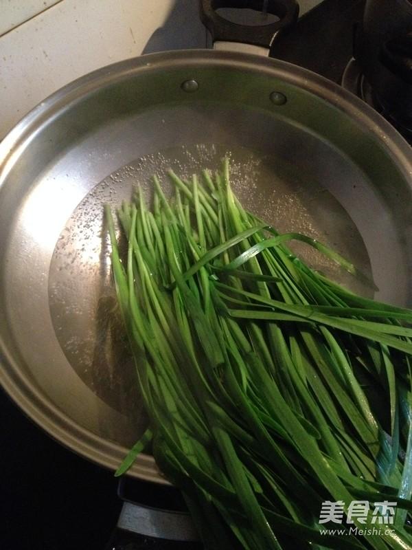 凉拌韭菜的做法图解