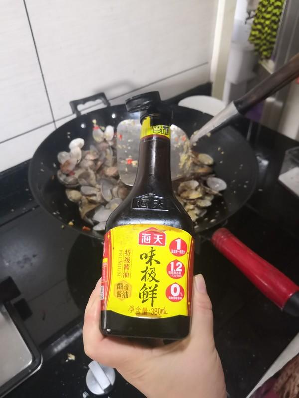 辣炒花甲怎样做