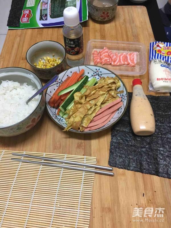 什锦寿司的做法图解