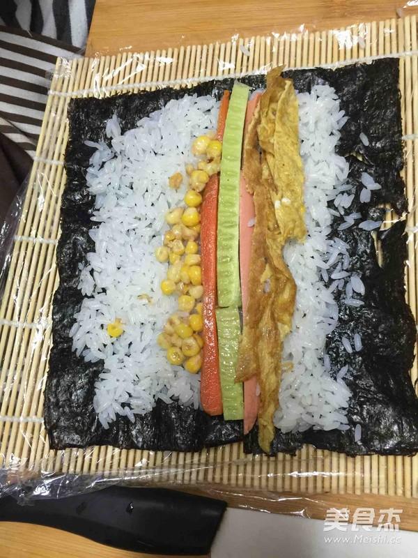 什锦寿司的简单做法