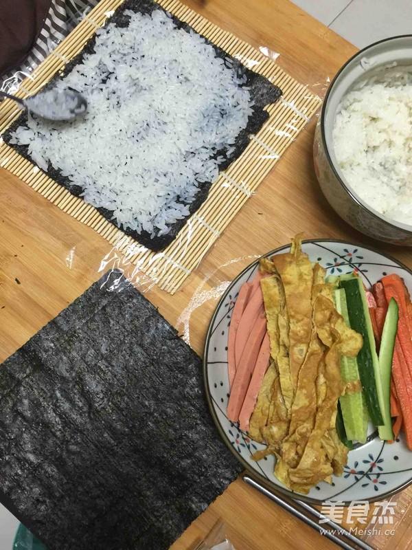 什锦寿司的家常做法