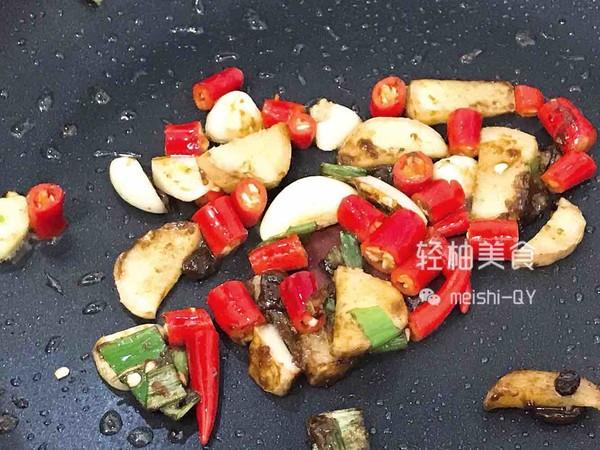 香辣过瘾的干锅杏鲍菇的简单做法