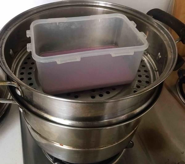 紫薯凉糕怎么炒