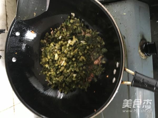 肉末酸菜的简单做法